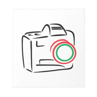 Abstract Camera Notepad