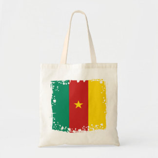 Abstract Cameroon Flag, Cameroon Africa Bag