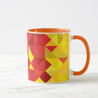 Abstract Cameroon Flag, Cameroon Africa Colors Mug