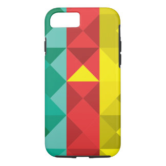 Abstract Cameroon Flag, Cameroon Africa Phone Case