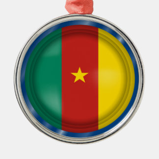 Abstract Cameroon Flag, Cameroon Ornament