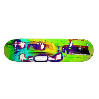 Abstract Cars Photograph Wall Plaque Modern Art 20.6 Cm Skateboard Deck