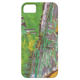 Abstract Case iPhone 5 Case