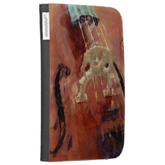 Abstract Cello Bridge Cases For Kindle