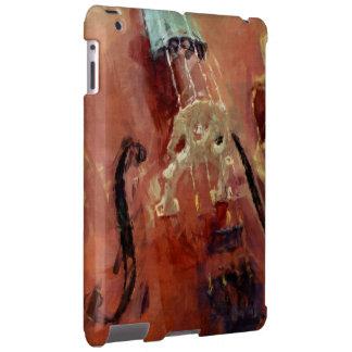 Abstract Cello Bridge iPad Case