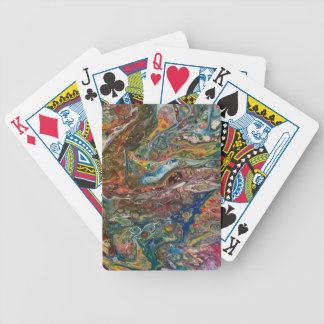 Abstract Cells 4 Bicycle Playing Cards