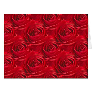 Abstract Center of Red Rose Wallpaper Cards
