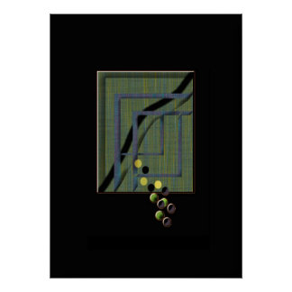 Abstract Centre Piece Print
