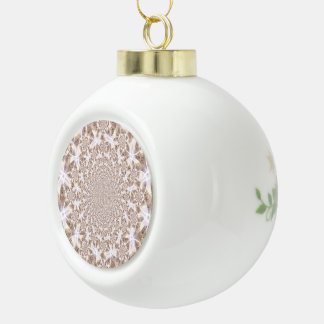 Abstract Ceramic Ball Ornament