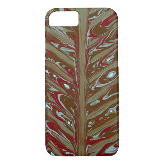 Abstract Chevron art iPhone 7 Case