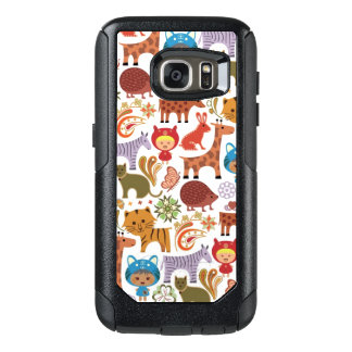 Abstract Child and Animals Pattern OtterBox Samsung Galaxy S7 Case