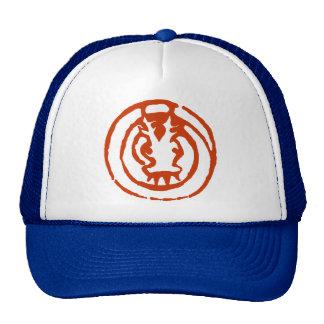 Abstract Chinese Zodiac Dragon Symbol Gift Trucker Hats