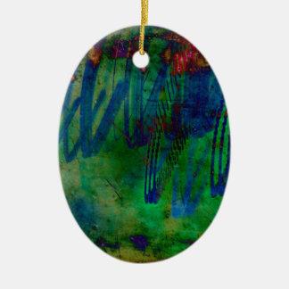 Abstract Christmas Ornament