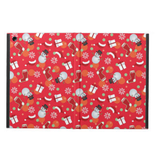 Abstract christmas pattern iPad air case