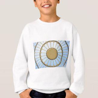 Abstract circle design sweatshirt