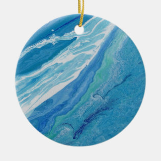 "Abstract Circle Ornament ""Wave"""