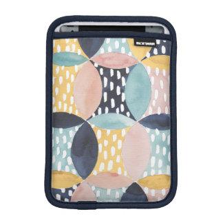 Abstract Circle Pattern iPad Mini Sleeve