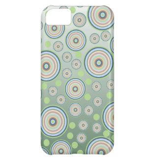 Abstract Circle Pattern iPhone 5C Case