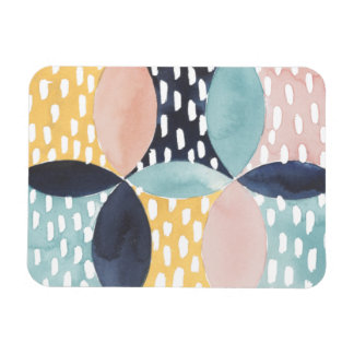 Abstract Circle Pattern Magnet