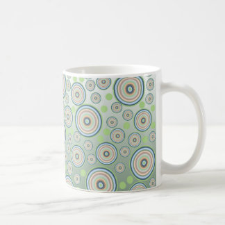 Abstract Circle Pattern Mugs