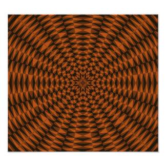 Abstract circle pattern photograph