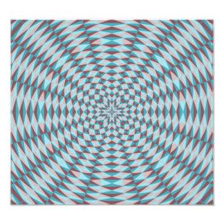 Abstract Circle Pattern Photo Art