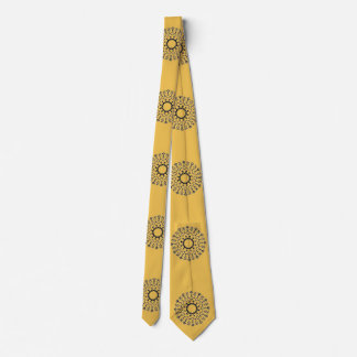 Abstract Circle pattern Tie