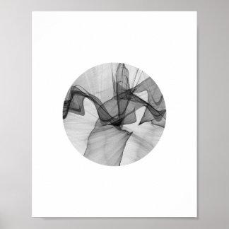 Abstract Circle Poster | 8x10