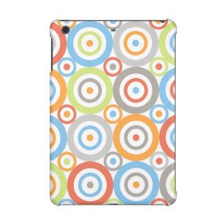 Abstract Circles Big Pattern Color Mix & Greys