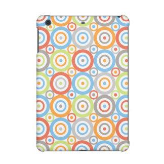 Abstract Circles Pattern Color Mix & Greys