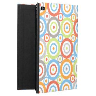 Abstract Circles Pattern Color Mix & Greys Powis iPad Air 2 Case