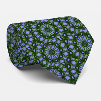 Abstract Circles-purples and green. Tie