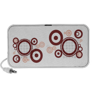 Abstract circles speaker case