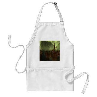 Abstract City Battle Aprons