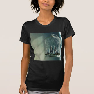 Abstract City Bird Cage T-shirts