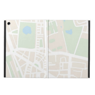 Abstract city map for globetrotter cover