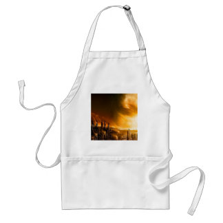Abstract City New Dawn Aprons