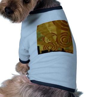 Abstract City Retro Bright Alive Pet Clothes