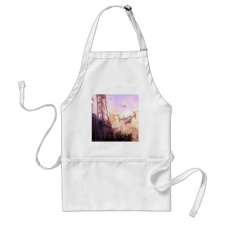 Abstract City Security Apron
