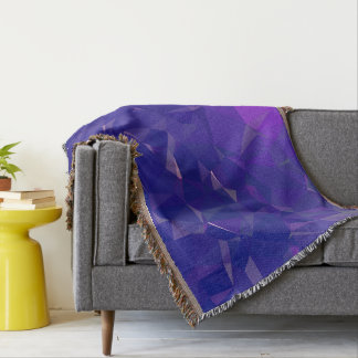 Abstract & Clean Geo Designs - Electric Dragon Throw Blanket