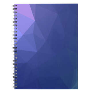 Abstract & Clean Geo Designs - Quiet Virtue Spiral Notebook
