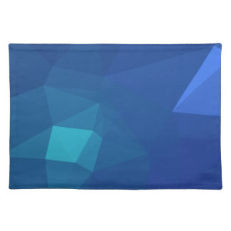 Abstract & Clean Geo Designs - River Flower Placemat