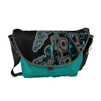 abstract climber Rickshaw messenger bag