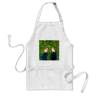 Abstract Close To Nature Adult Apron