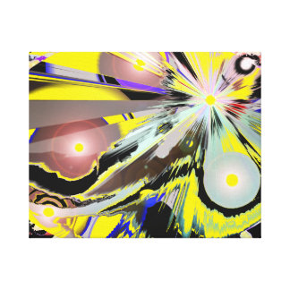 Abstract Close up of Galaxy Egg 2 Canvas Prints
