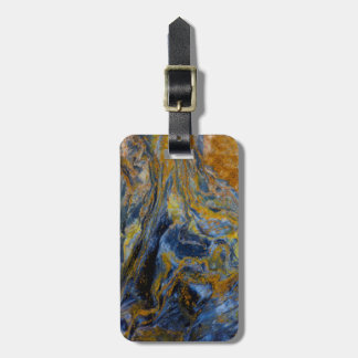 Abstract Close up of Pietersite Luggage Tag