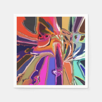 Abstract Clown Abstract Paper Napkin