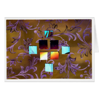 Abstract Collage 1 Greeting Card