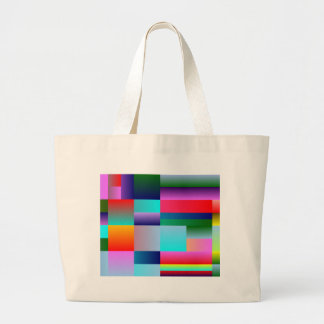 Abstract Color Boxes Tote Bags
