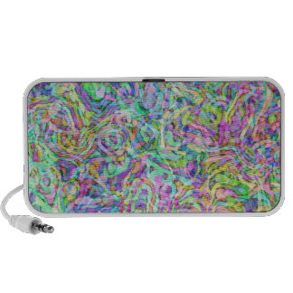 ABSTRACT COLOR DANCE MP3 SPEAKER